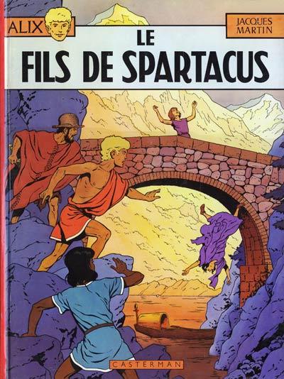 Consulter les informations sur la BD Le Fils de Spartacus