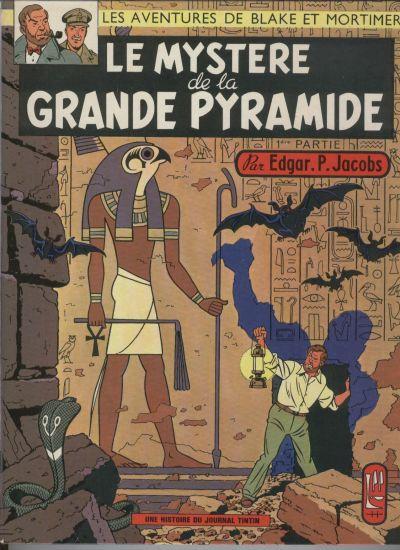 Consulter les informations sur la BD Le Mystère de la Grande Pyramide - Tome 1