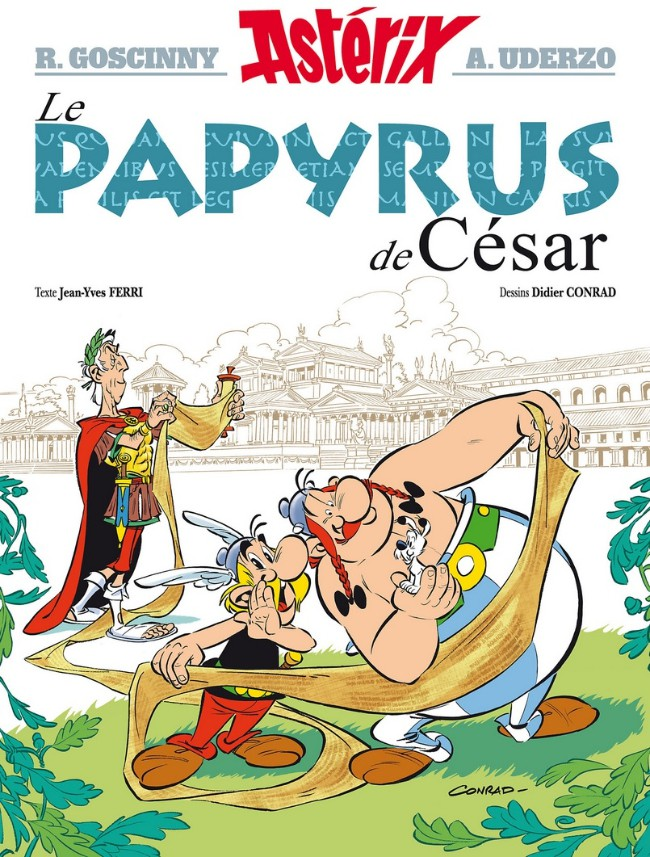 Consulter les informations sur la BD Le papyrus de César