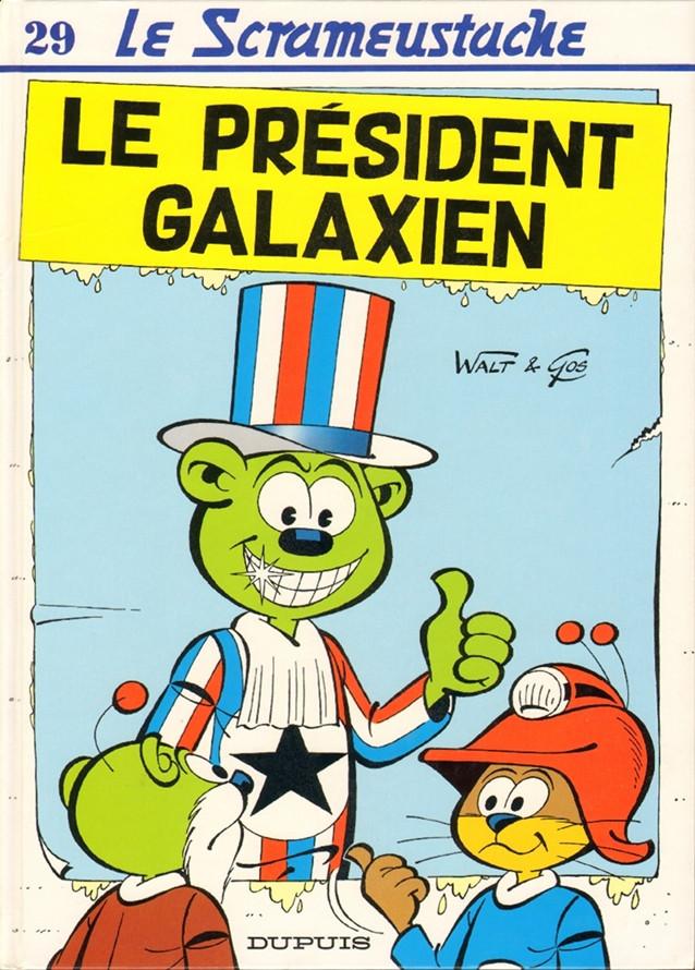 Consulter les informations sur la BD Le Président Galaxien