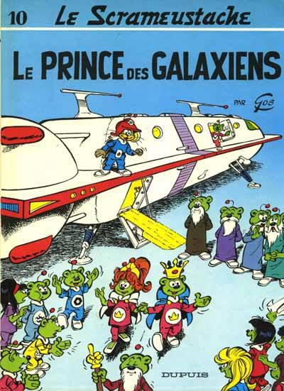Consulter les informations sur la BD Le Prince des Galaxiens