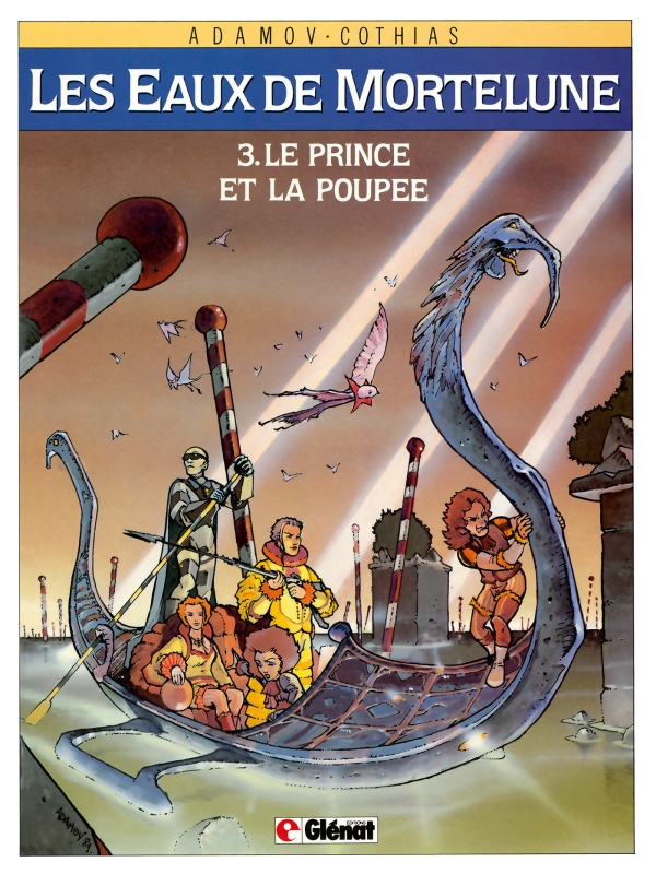 Consulter les informations sur la BD Le Prince et la Poupee