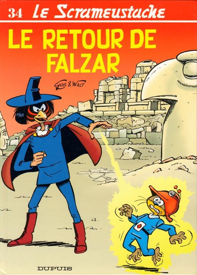 Consulter les informations sur la BD Le retour de Falzar