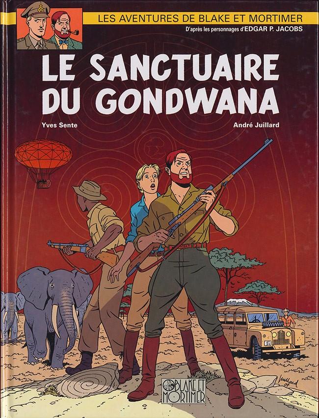 Consulter les informations sur la BD Le Sanctuaire de Gondwana