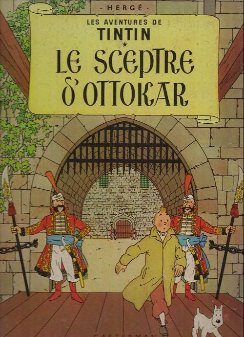 Consulter les informations sur la BD Le Sceptre d'Ottokar