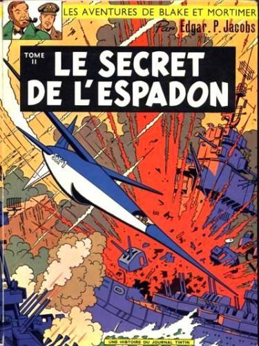 Consulter les informations sur la BD Le Secret de l'Espadon - Tome 2
