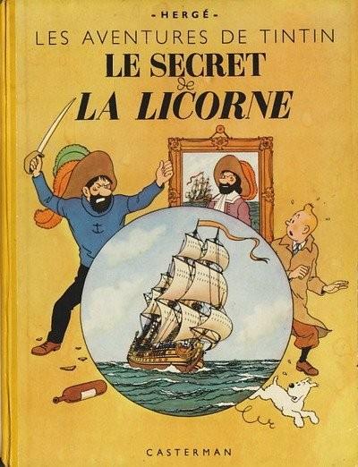 Consulter les informations sur la BD Le Secret de la Licorne