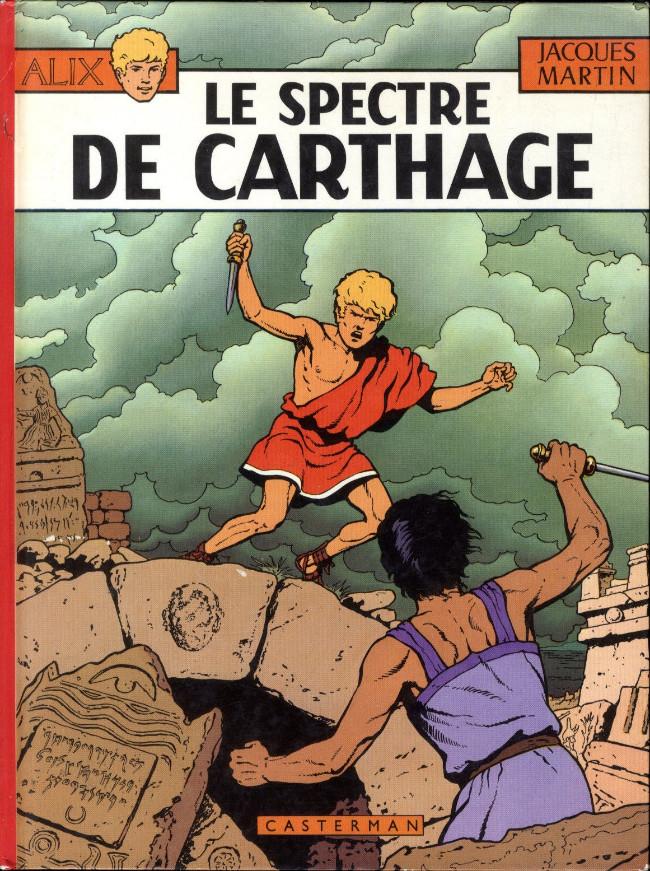 Consulter les informations sur la BD Le Spectre de Carthage