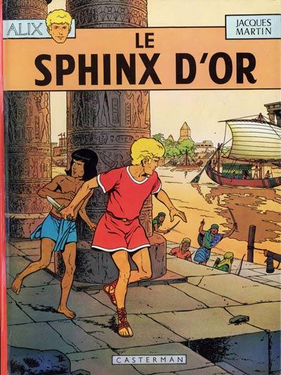 Consulter les informations sur la BD Le Sphinx d'or