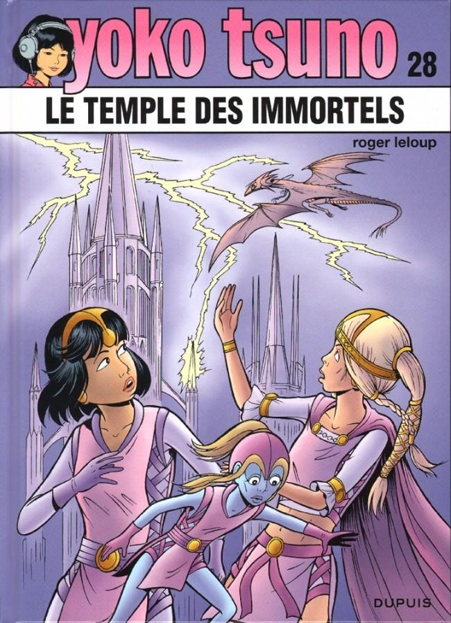 Consulter les informations sur la BD Le temple des immortels