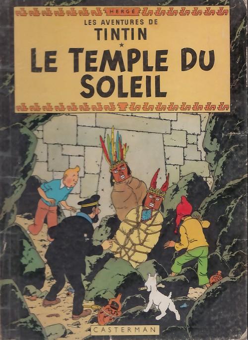Consulter les informations sur la BD Le Temple du Soleil