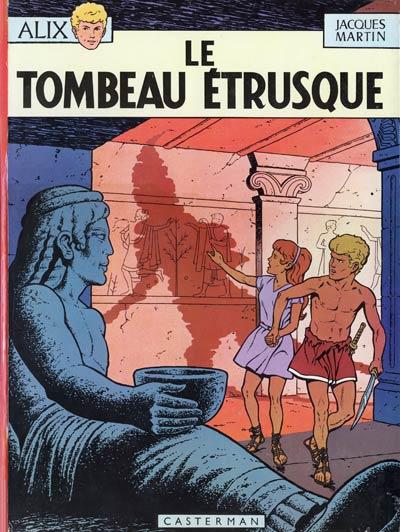 Consulter les informations sur la BD Le Tombeau Etrusque