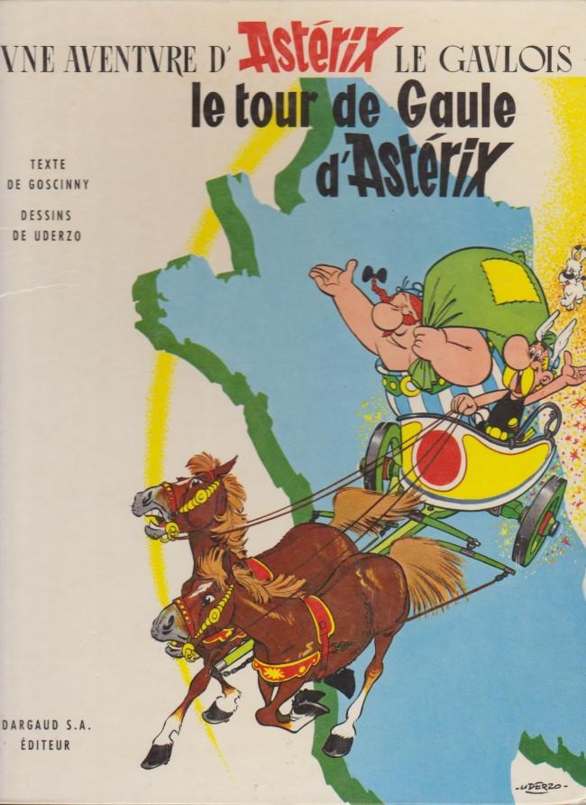 Consulter les informations sur la BD Le Tour de Gaule d'Astérix