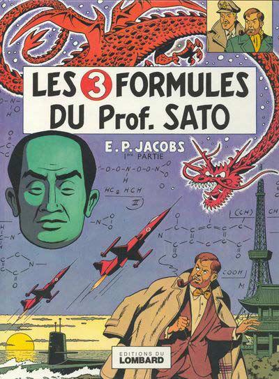 Consulter les informations sur la BD Les 3 Formules du Professeur Satô - Tome 1