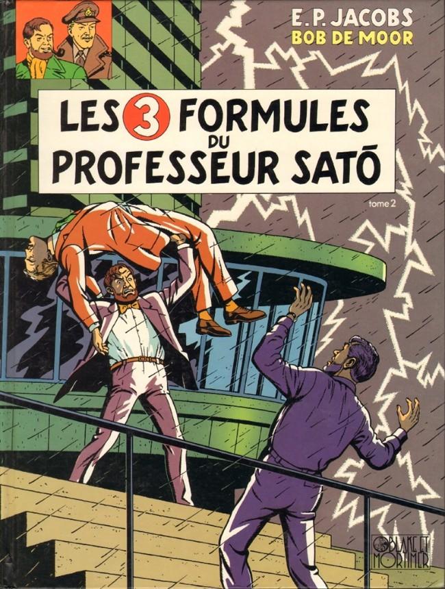 Consulter les informations sur la BD Les 3 Formules du Professeur Satô - Tome 2