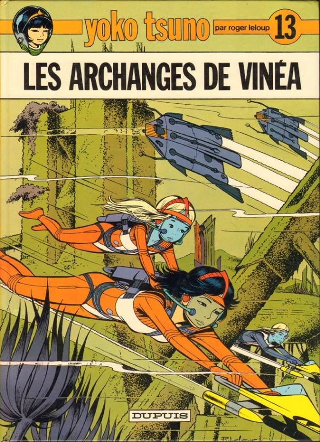 Consulter les informations sur la BD Les Archanges de Vinea