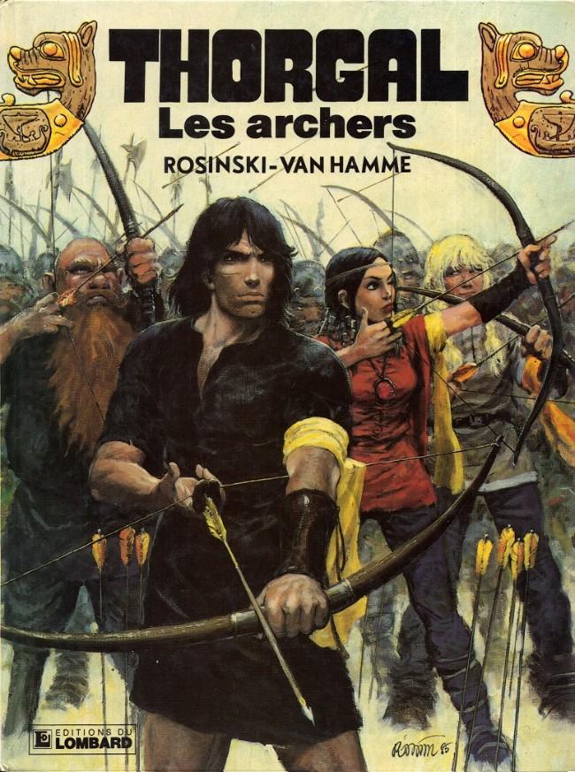 Consulter les informations sur la BD Les Archers