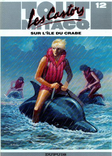 Consulter les informations sur la BD Les Castors sur l'île du crabe