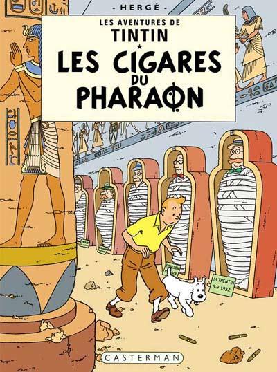 Consulter les informations sur la BD Les Cigares du Pharaon