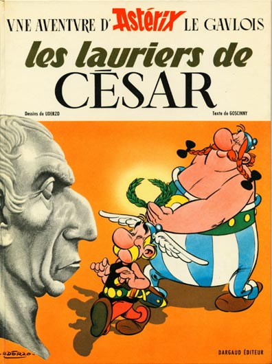 Consulter les informations sur la BD Les Lauriers de César