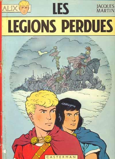 Consulter les informations sur la BD Les Légions Perdues