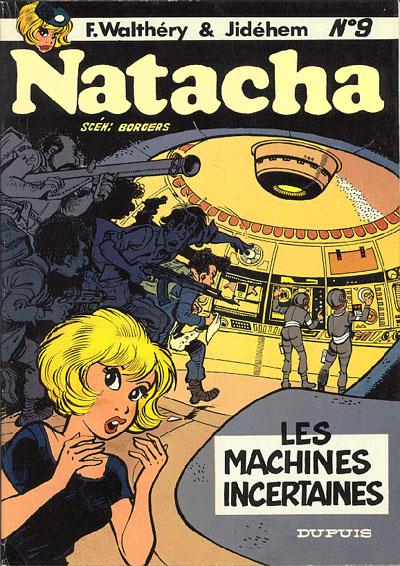 Consulter les informations sur la BD Les machines incertaines