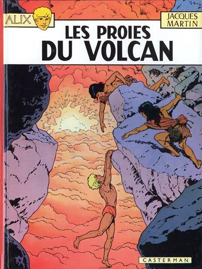 Consulter les informations sur la BD Les Proies du Volcan
