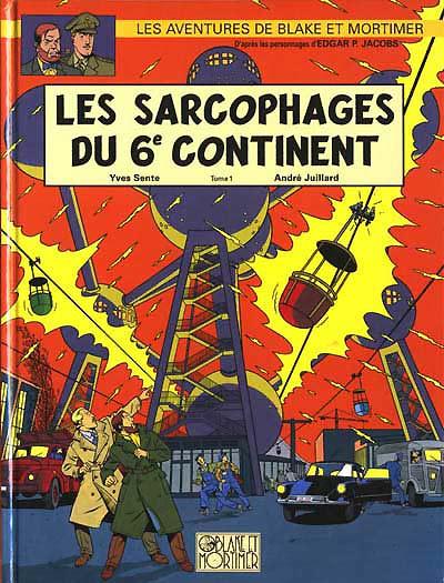 Consulter les informations sur la BD Les Sarcophages du 6e Continent - Tome 1