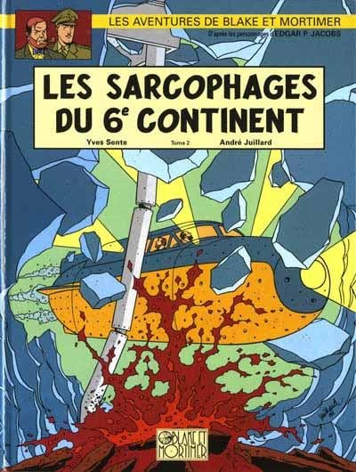 Consulter les informations sur la BD Les Sarcophages du 6e Continent - Tome 2