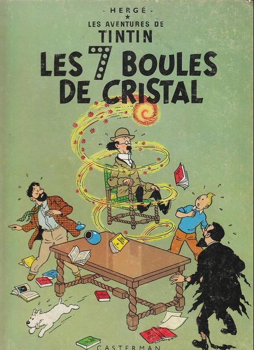 Consulter les informations sur la BD Les Sept Boules de Cristal