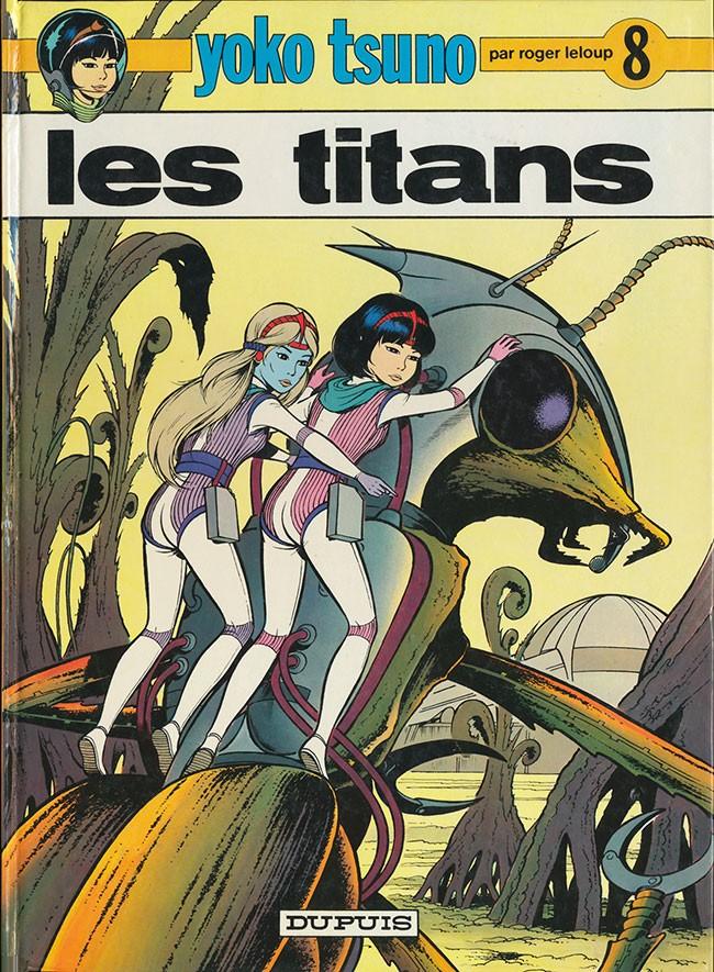 Consulter les informations sur la BD Les Titans