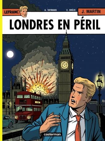 Consulter les informations sur la BD Londres en péril