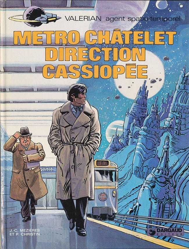 Consulter les informations sur la BD Métro Chatelet Direction Cassiopée