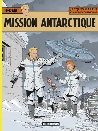 Consulter les informations sur la BD Mission Antarctique