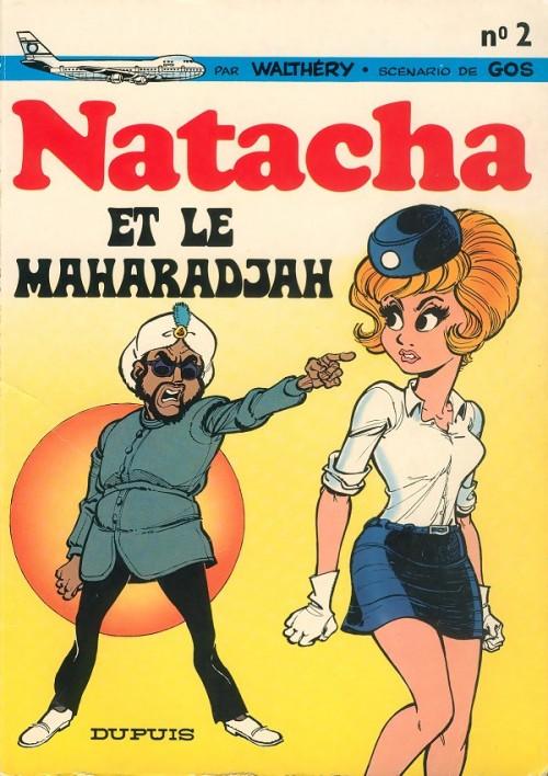 Consulter les informations sur la BD Natacha et le Maharadjah