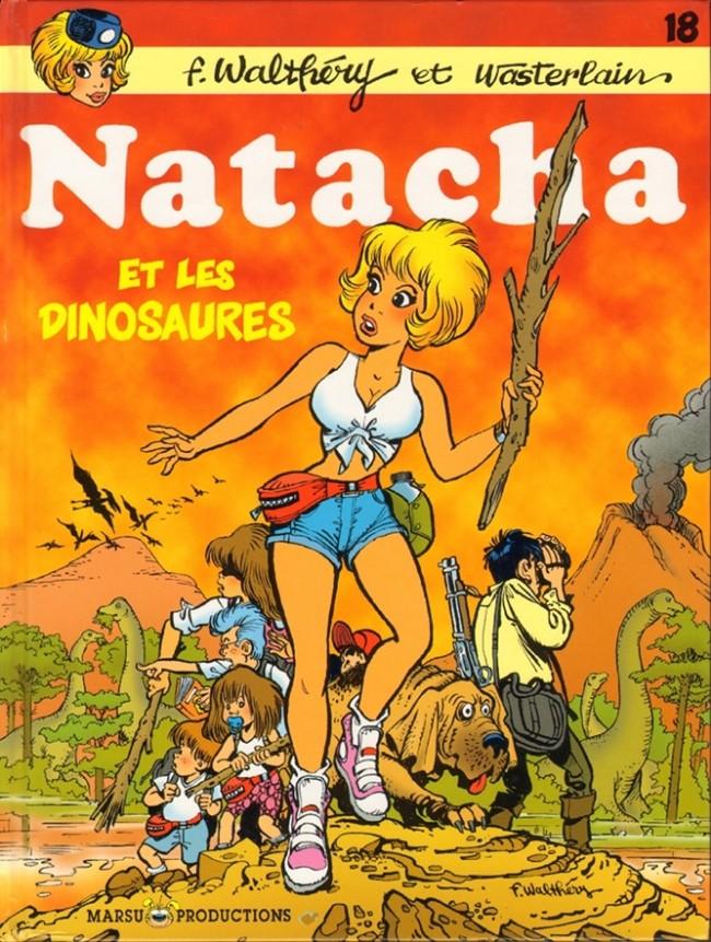 Consulter les informations sur la BD Natacha et les dinosaures