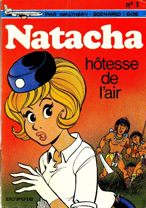 Consulter les informations sur la BD Natacha, hôtesse de l'air