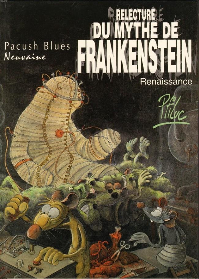 Consulter les informations sur la BD Neuvaine : Relecture du Mythe de Frankenstein - Renaissance