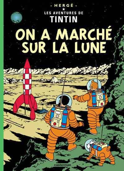 Consulter les informations sur la BD On a marché sur la Lune