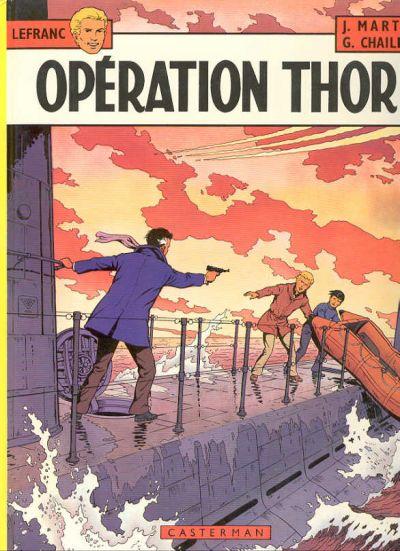 Consulter les informations sur la BD Opération Thor