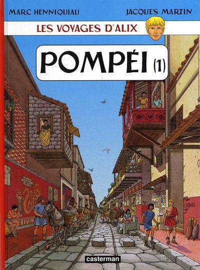 Consulter les informations sur la BD Pompéi (Tome 1)