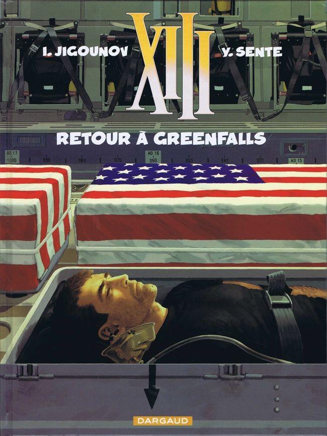 Consulter les informations sur la BD Retour à Greenfalls