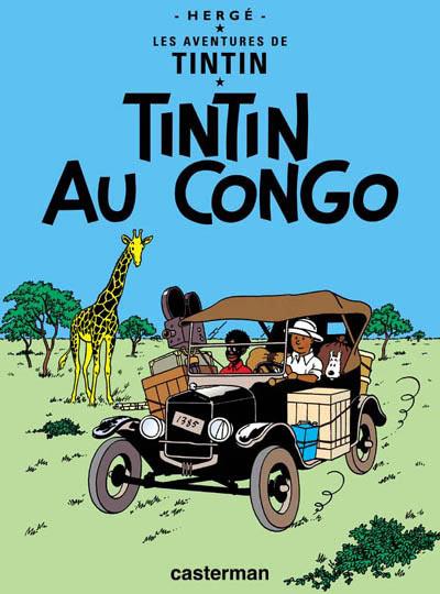 Consulter les informations sur la BD Tintin au Congo