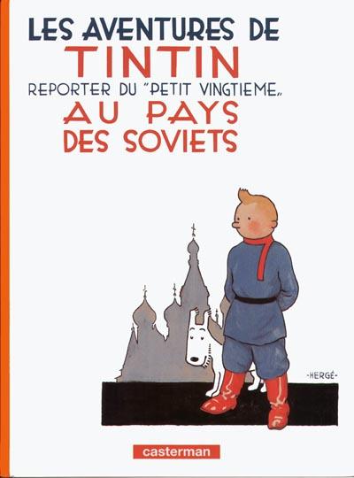 Consulter les informations sur la BD Tintin au Pays des Soviets