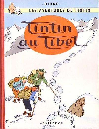 Consulter les informations sur la BD Tintin au Tibet