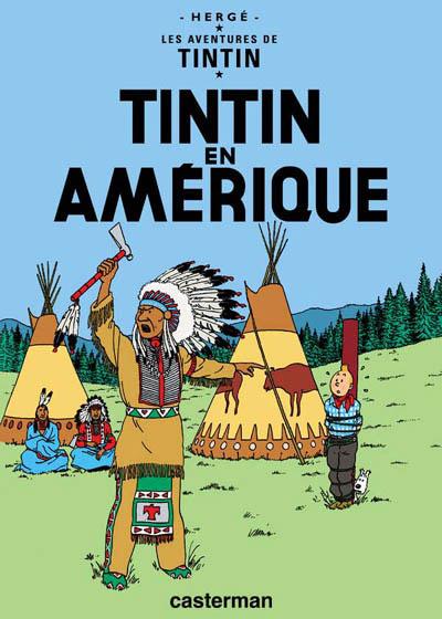 Consulter les informations sur la BD Tintin en Amérique