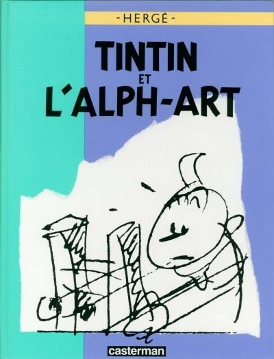 Consulter les informations sur la BD Tintin et l'Alph-Art
