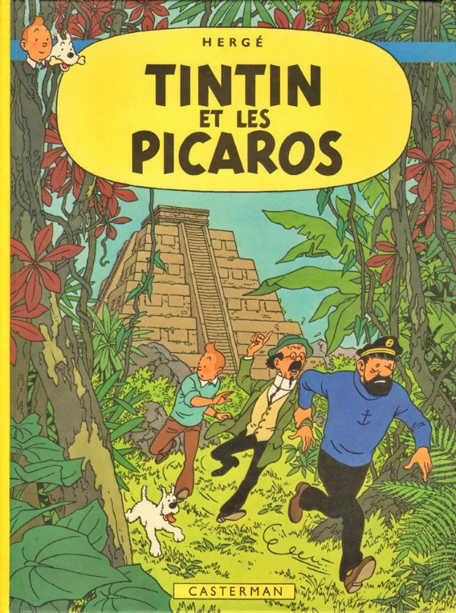 Consulter les informations sur la BD Tintin et les Picaros