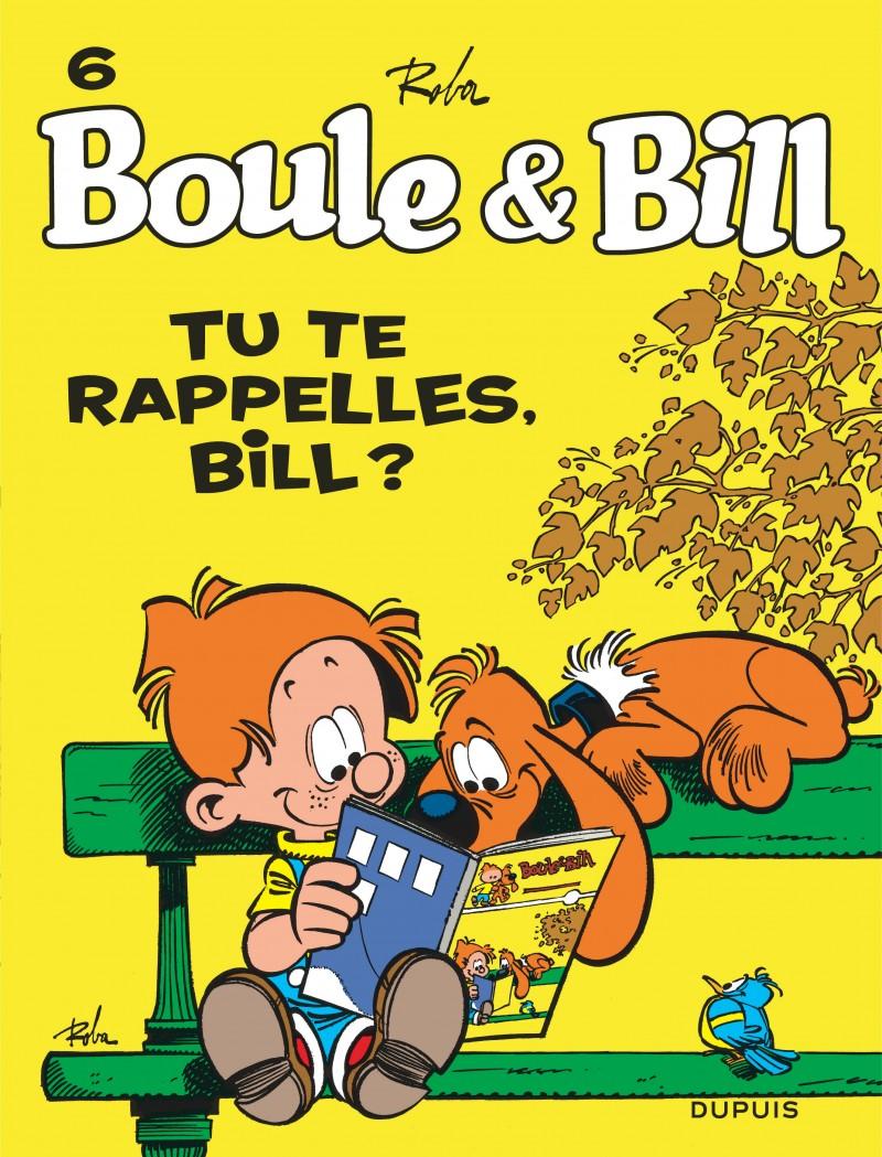 Consulter les informations sur la BD Tu te Rappelles Bill ?
