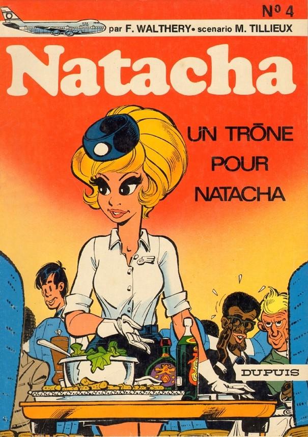 Consulter les informations sur la BD Un trône pour Natacha